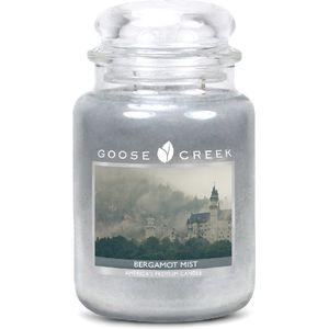 Goose Creek Large Jar Candle - Bergamot Mist