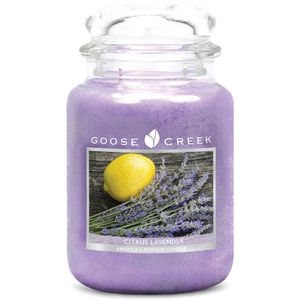 Goose Creek Large Jar Candle - Citrus Lavender