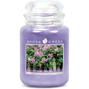 Goose Creek Large Jar Candle - Garden Lilac