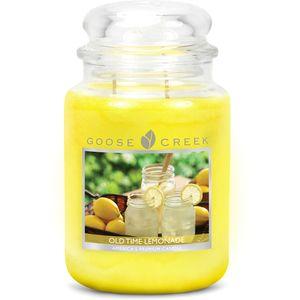 Goose Creek Large Jar Candle - Old Time Lemonade