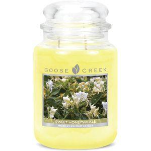 Goose Creek Large Jar Candle - Sweet Honeysuckle