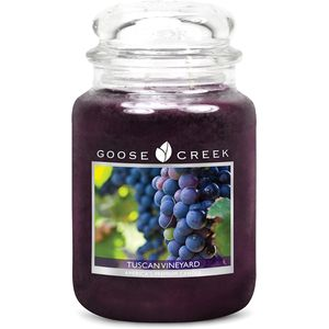 Goose Creek Large Jar Candle - Tuscan Vineyard