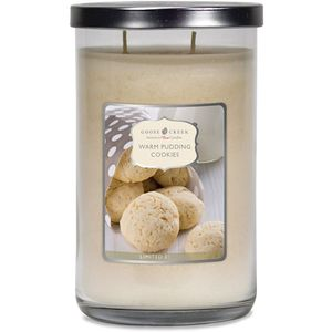 Goose Creek Large Jar Candle - Warm Pudding Cookies