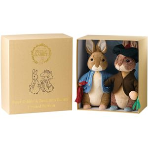 Gund Beatrix Potter Limited Edition Peter Rabbit & Benjamin Bunny Soft Toys Set