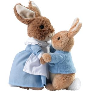 Gund Beatrix Potter Mrs Rabbit & Peter Soft Toy Set