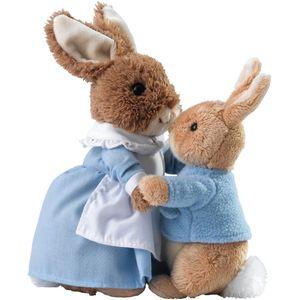 GUND Mrs Rabbit & Peter Soft Toy Set