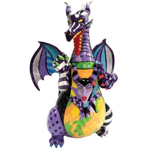 Dragon with Maleficent in Body Disney Britto Figurine Ref: 4057163