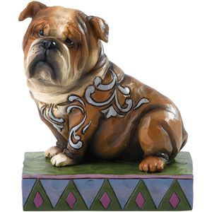 Heartwood Creek Hogan British Bulldog Figurine