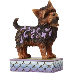 Heartwood Creek Canine Creations Figurine - Izzie Yorkshire Terrier Dog