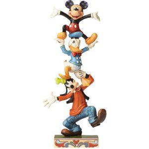Teetering Tower, Goofy Donald & Mickey Disney Figure