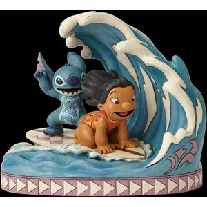 Disney Traditions 15th Anniversary Piece - Catch The Wave (Lilo & Stitch)