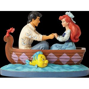 Disney Traditions Waiting for a Kiss (Ariel & Prince Eric) Figurine