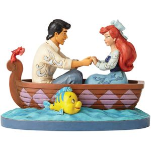 Waiting for a Kiss - Ariel & Prince Eric Figurine