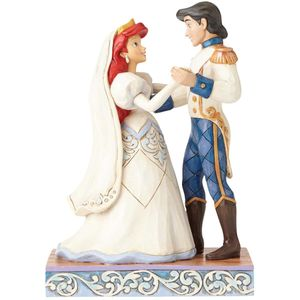 Wedding Bliss Ariel & Prince Eric Disney Figurine