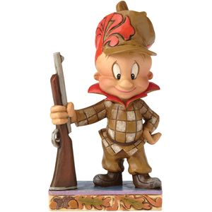 Happy Hunter Elmer Fudd Looney Tunes Figurine