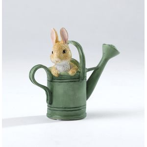 Peter Rabbit in Watering Can Miniature Figurine