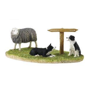 Ewe Take the Left (Herdwick) Figure