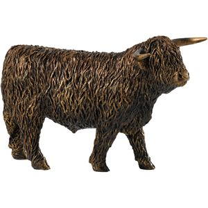 Border Fine Arts Studio Bronze Highland Bull Figurine