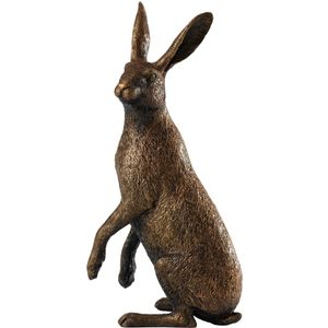 Border Fine Arts Studio Bronze Hare Figurine