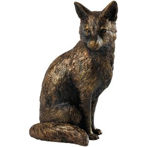 Border Fine Arts Studio Bronze Fox Figurine