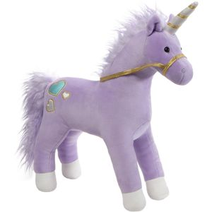 GUND Bluebell Purple Unicorn Soft Toy