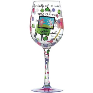 Lolita Mummys Time Out Wine Glass