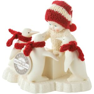 Snowbabies Helpful Friends Figurine