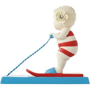 Snow Babies Beach Babies Figurine - Skiing the Wake