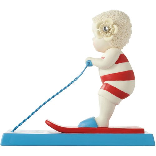 Skiing Snowbaby Figurine