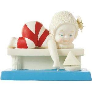 Snow Babies Beach Babies Figurine - Come Sail Away