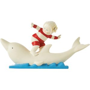 Snow Babies Beach Babies Figurine - Lets Go Surfin