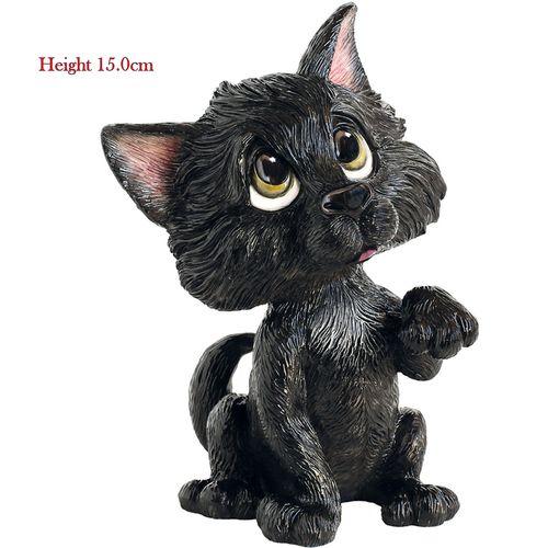Little Paws Figurine Black Cat