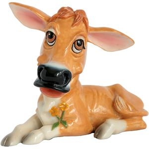 Little Paws Jenny the Jersey Cow Figurine