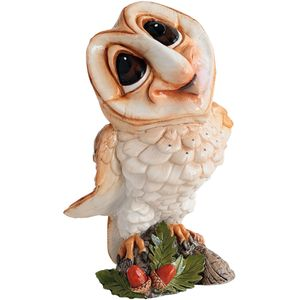 Little Paws Owlbert Owl Figurine
