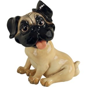 Pets with Personality Pud the Pug Dog Figurine