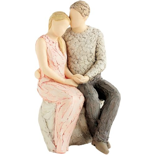 Always & Forever More Than Words Couple Figurine by Arora Design
