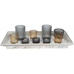 Tealight Candle Gift Set on Tray