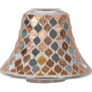 Aroma Jar Candle Lamp Shade: Copper Mirror