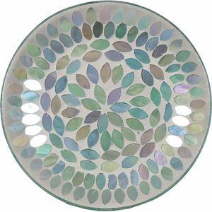 Aroma Candle Plate: Aqua Pearl