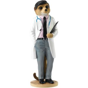Magnificent Meerkats On Call Doctor Figurine