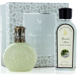 Fragrance Lamp Gift Set Olive Branch & Garden Mint