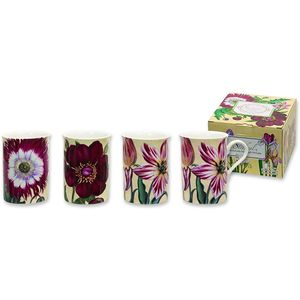 Heath McCabe Trent Floral Art Set of 4 Mugs
