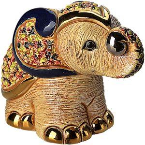 De Rosa White Elephant Figurine