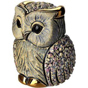 De Rosa Blue Owl Figurine