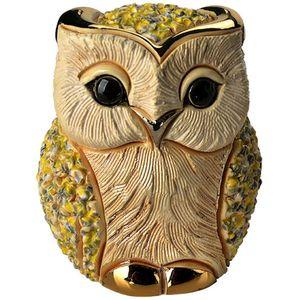 De Rosa White Owl Figurine
