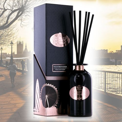 Ashleigh & Burwood Reed Diffuser - Tales of London Collection: Westminster