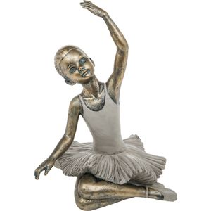 Pretty Ballerina Figurine Arm Up Sitting Pose