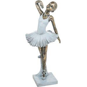 Pretty Ballerina Figurine Salute Pose