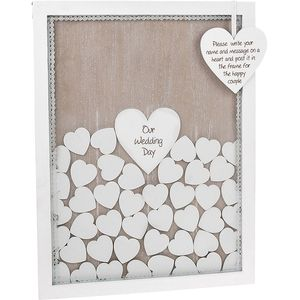 Provence Wedding Lace Drop Box (Guest Book )