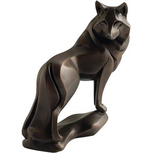 Gallery Collection Wolf Bronze Figurine